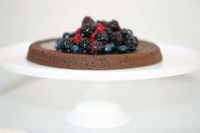 Organic Flourless Chocolate Cake