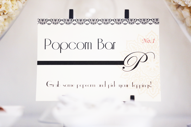 Oscars Party Printable Sign