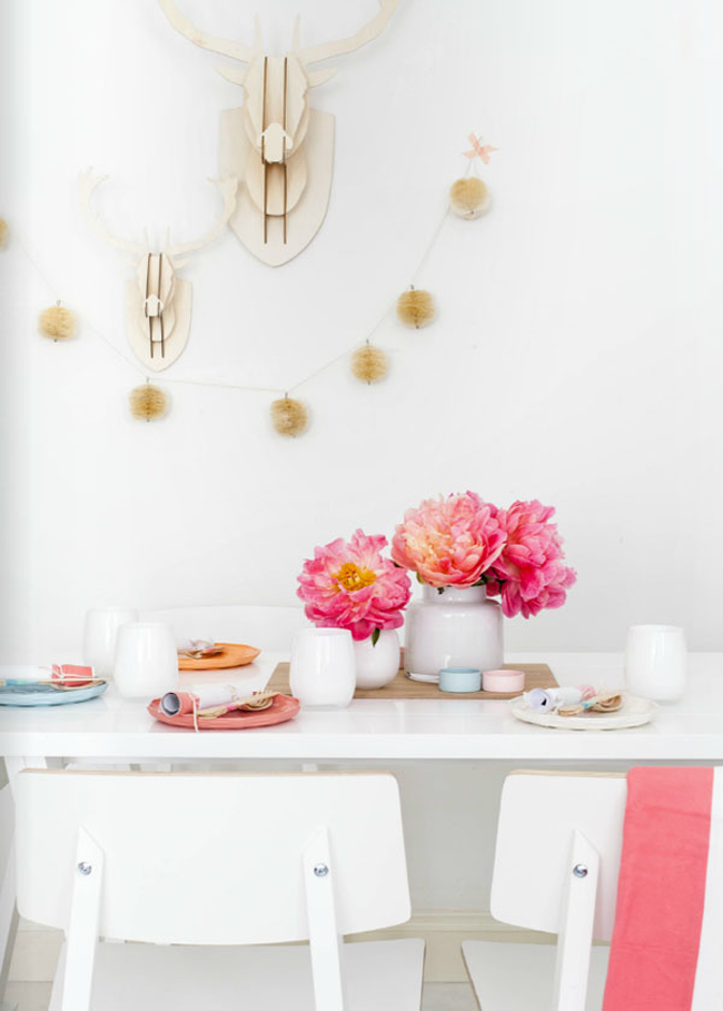 Springtime Entertaining Tables