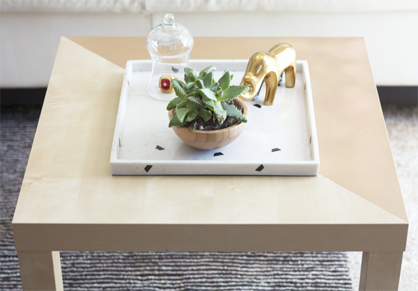 Diy Coffee Table Ikea Hack Kristi Murphy Diy Blog