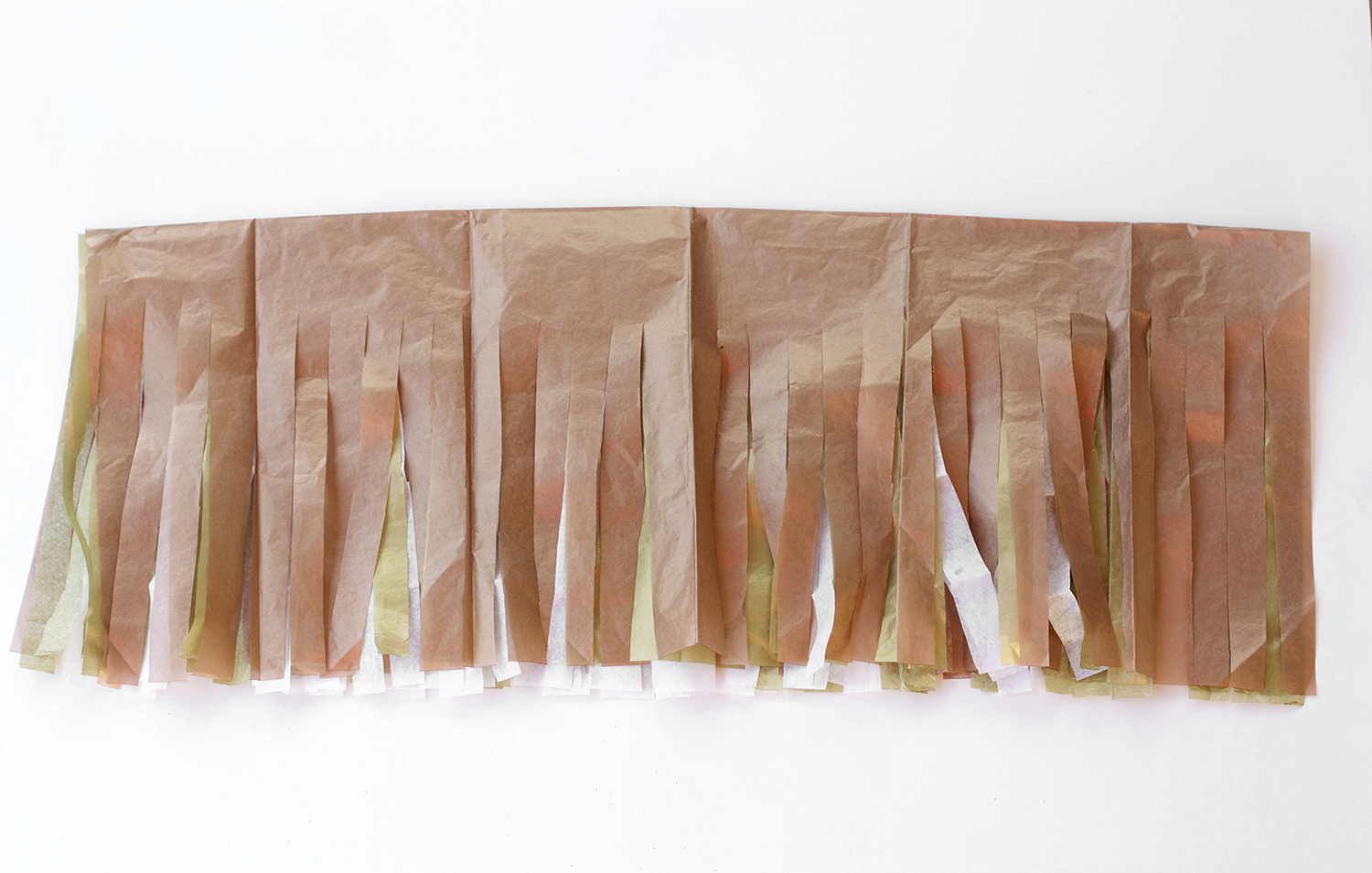 How To Make Tissue Paper Garland