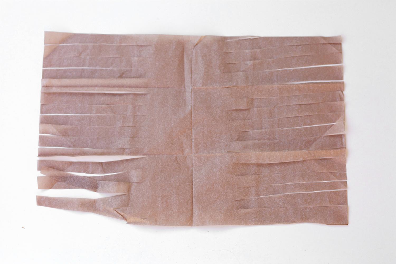 How To Make Tissue Garland