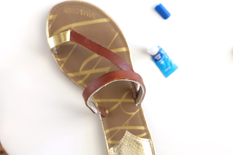 DIY Gladiator Shoes