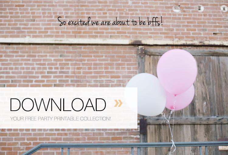 Free Party Printables | Kristi Murphy