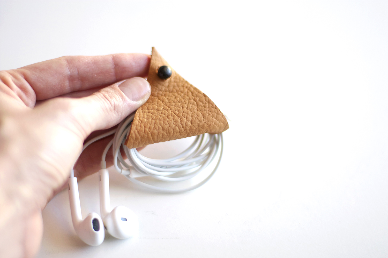 DIY Earbud Holder