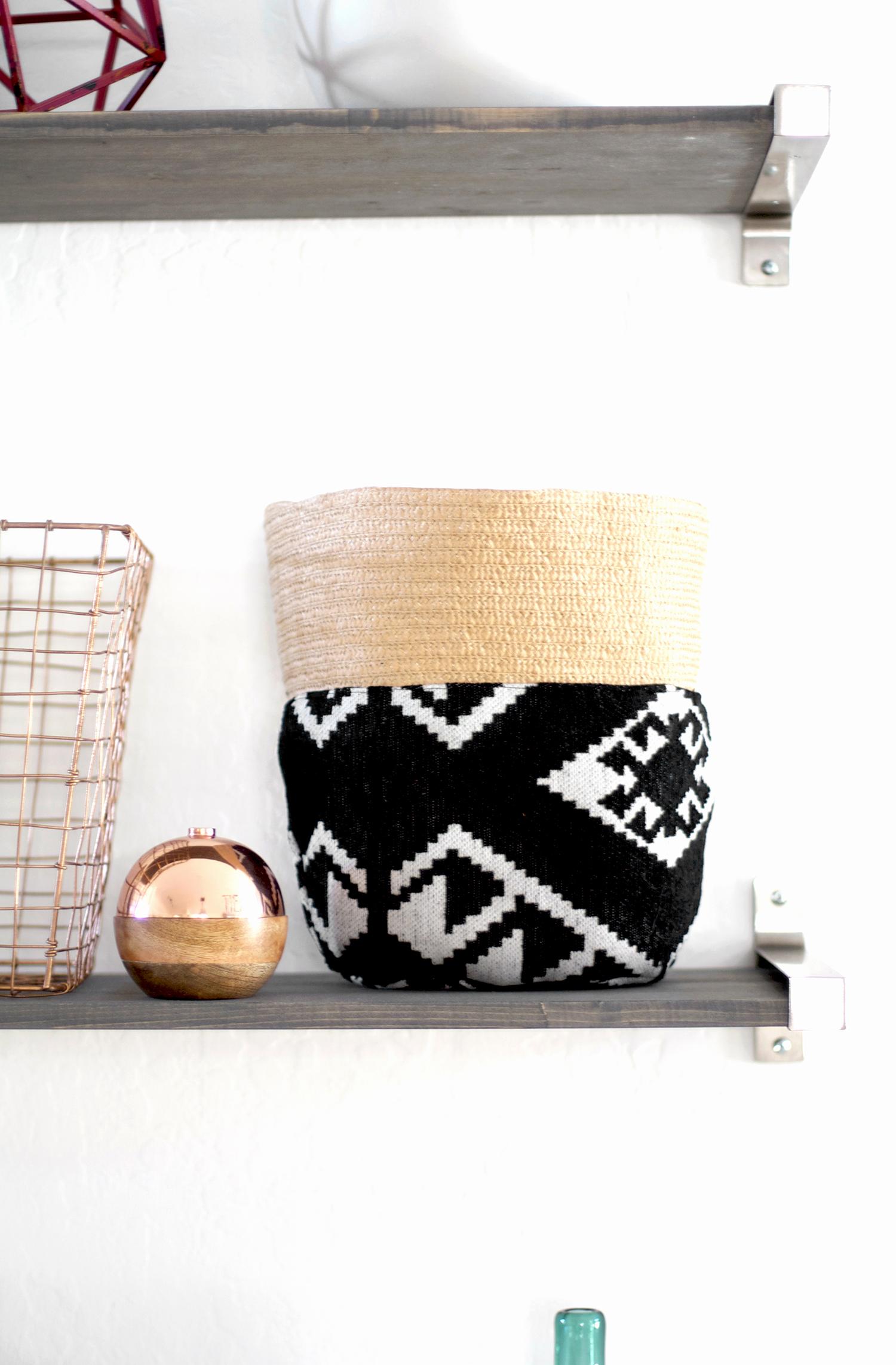Storage Basket Tutorial