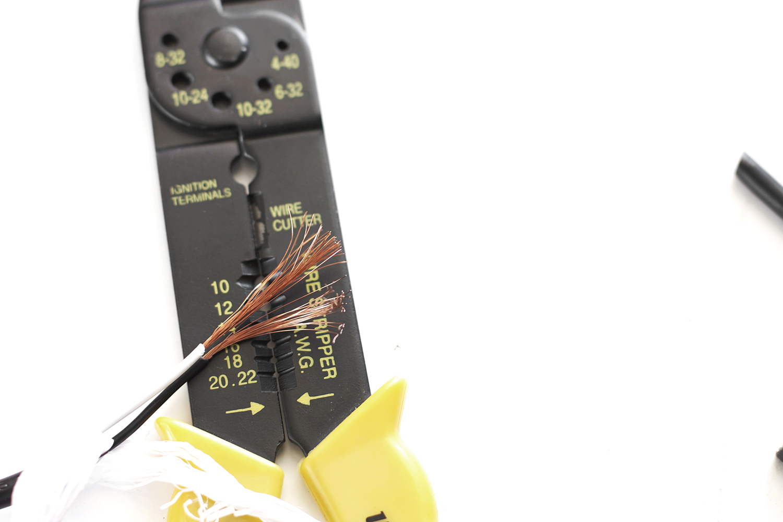 hardwire a plug light