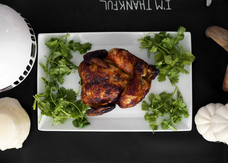 Thanksgiving turkey presentation
