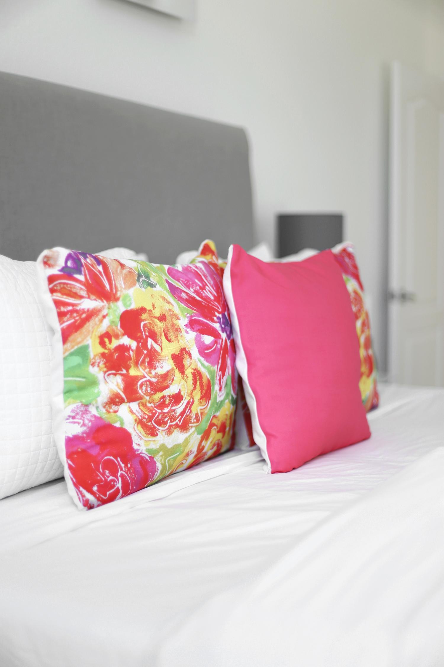 TinyPrints pillows