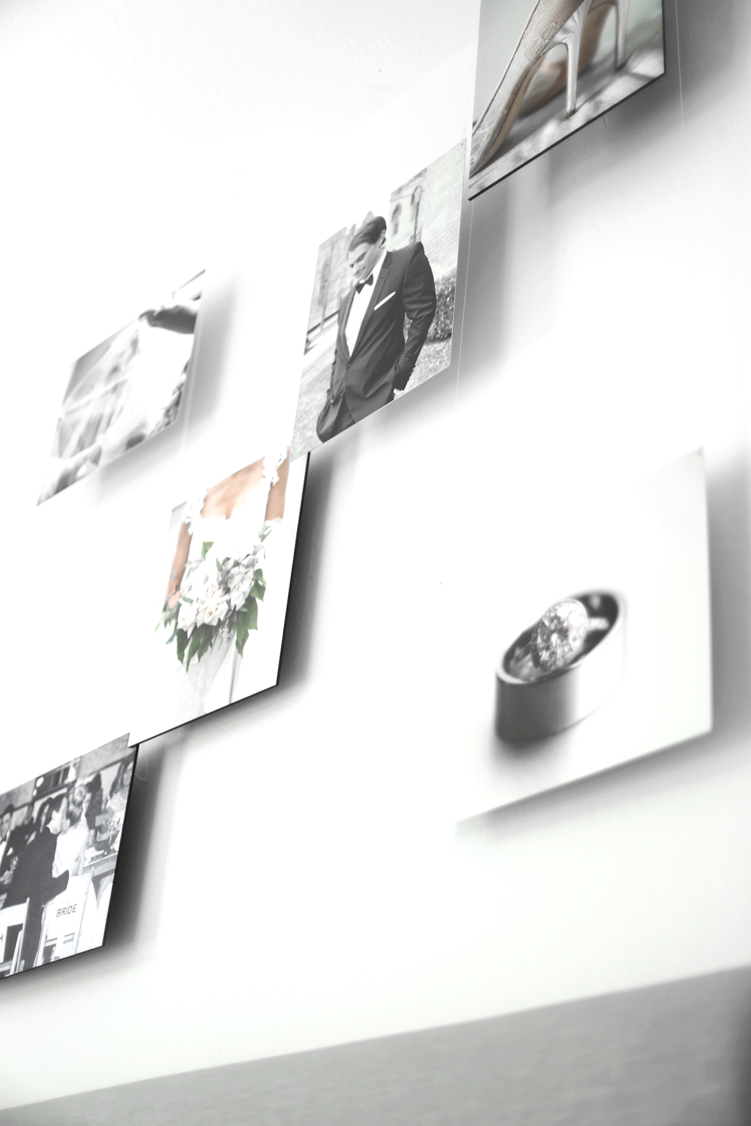 floating gallery walls