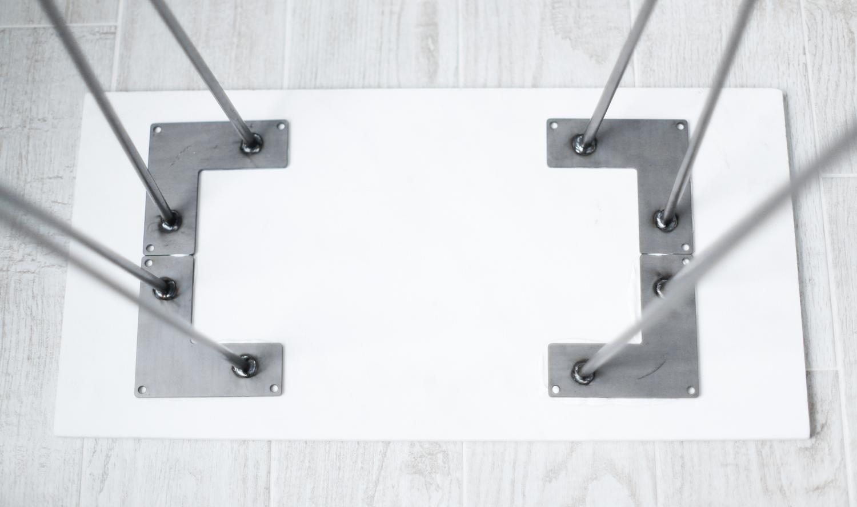 DIY side table step 2