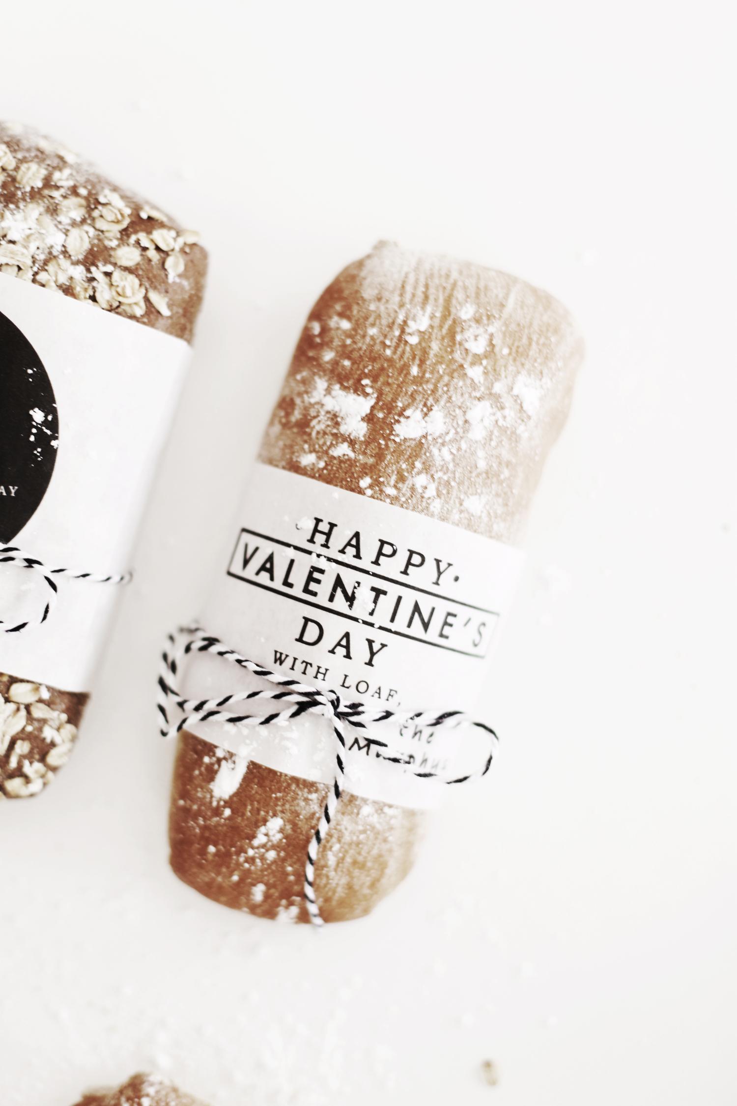 Valentine's Day bread gift