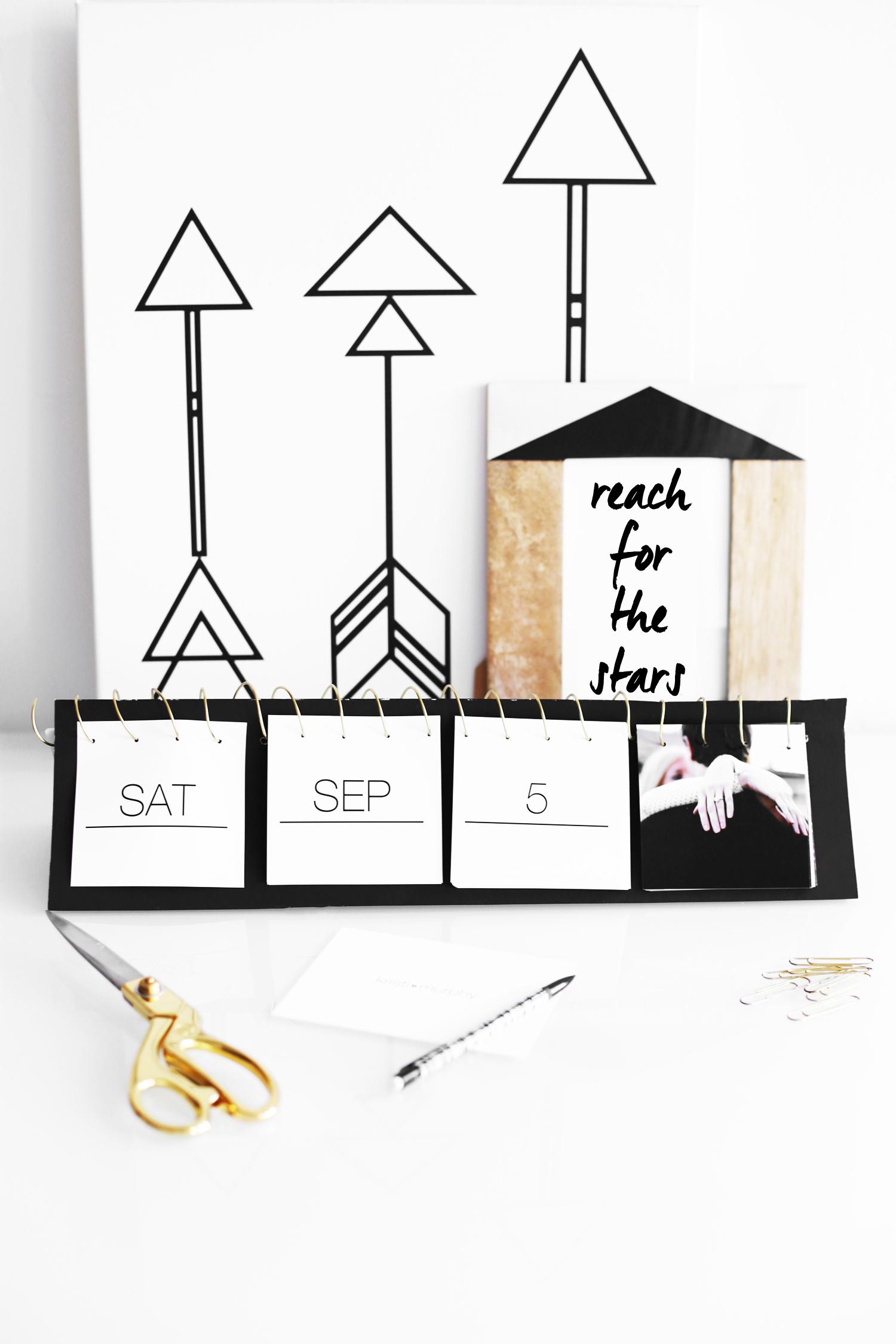 DIY Instagram calendar
