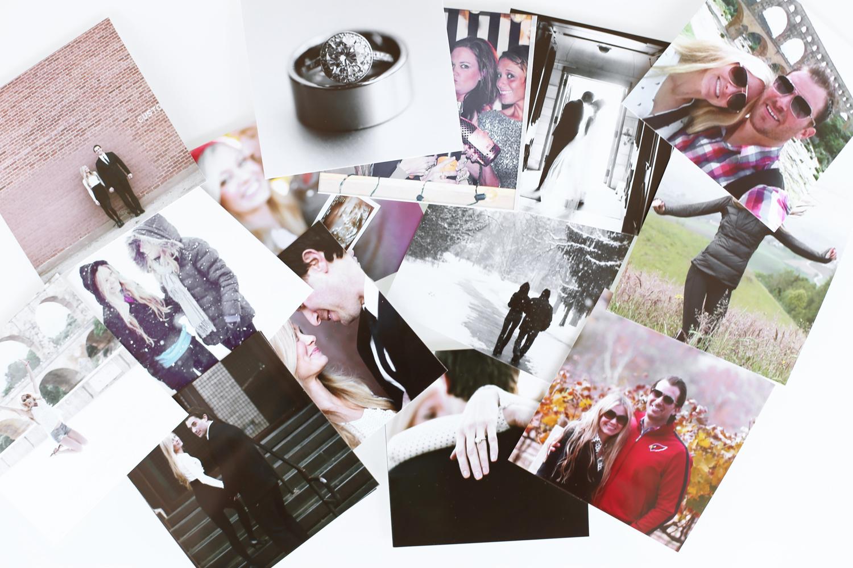 DIY Instagram calendar step 1