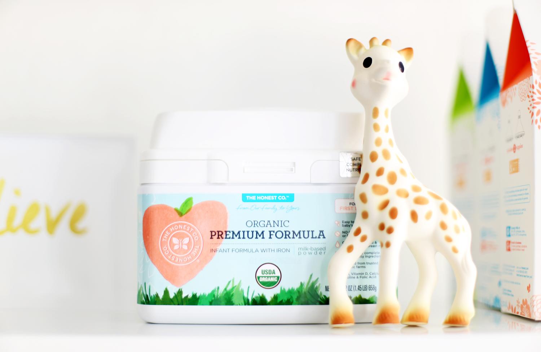 The Honest Co. organic baby formula DIY pregnant gift