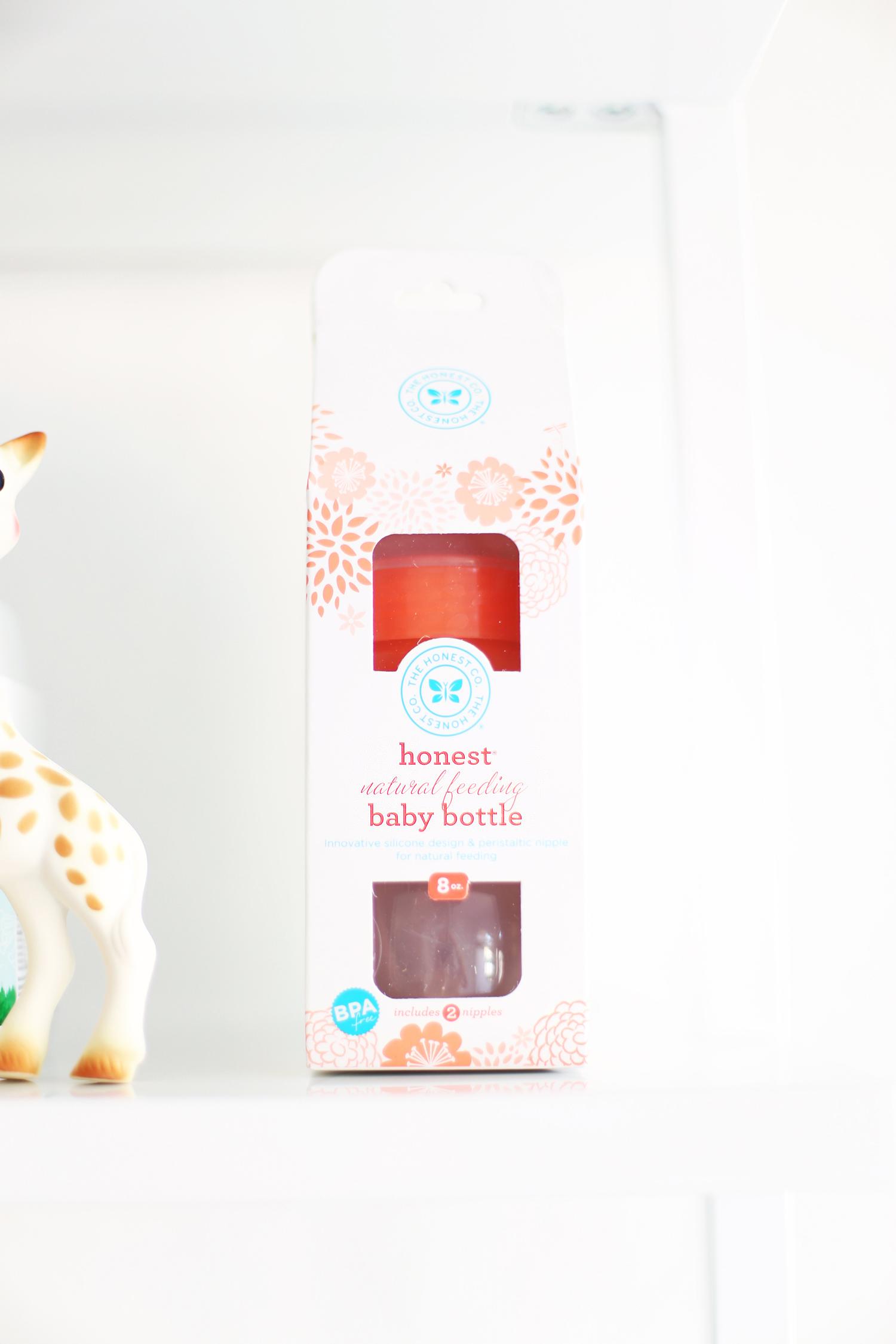 The Honest Co. natural feeding bottle gift for pregnant woman