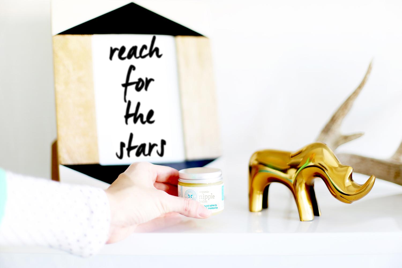 The Honest Co. organic nipple balm pregnancy gift basket ideas