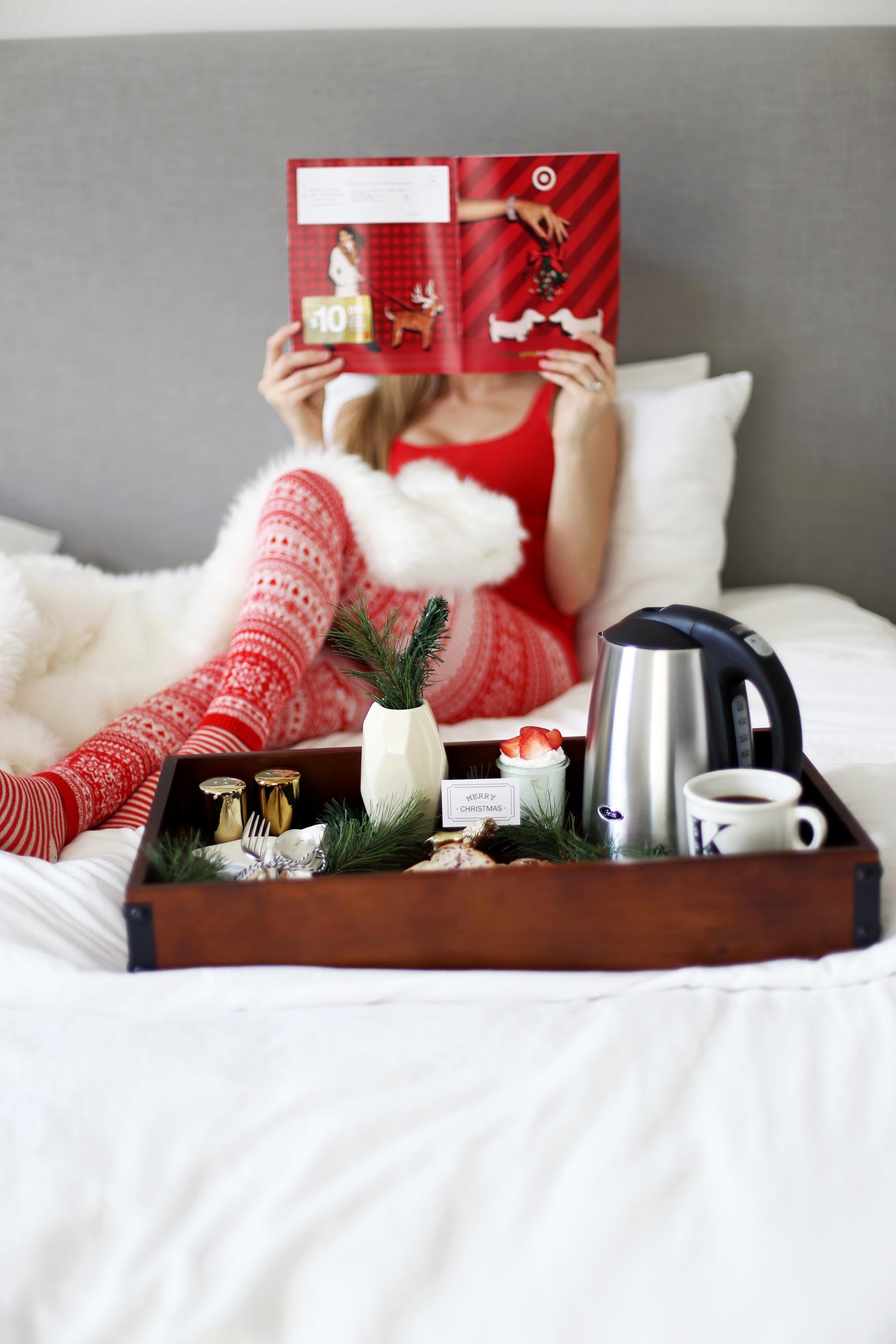 Christmas breakfast in bed ideas