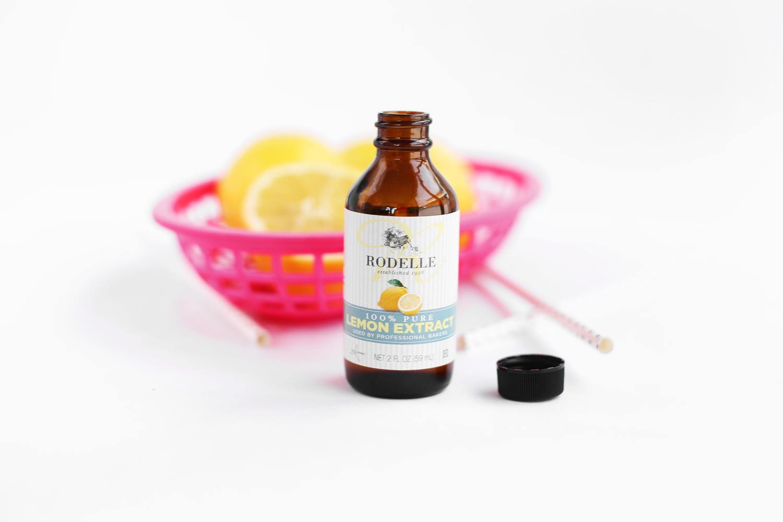 Rodelle Lemon Extract float recipe