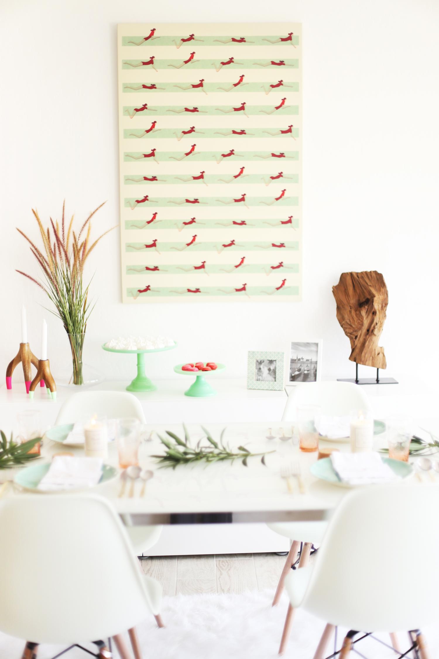 buffet table setting ideas