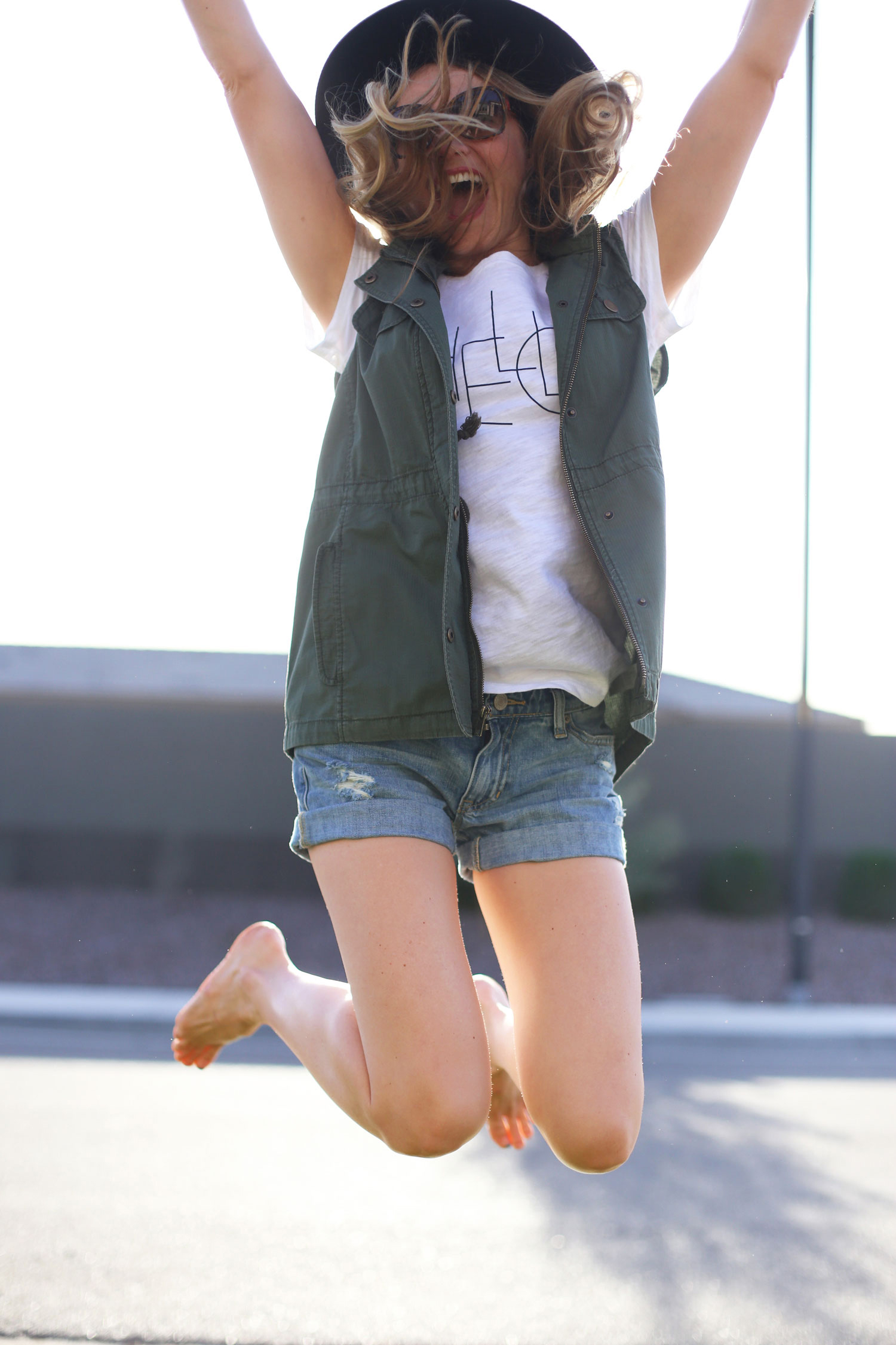 summer shorts outfit