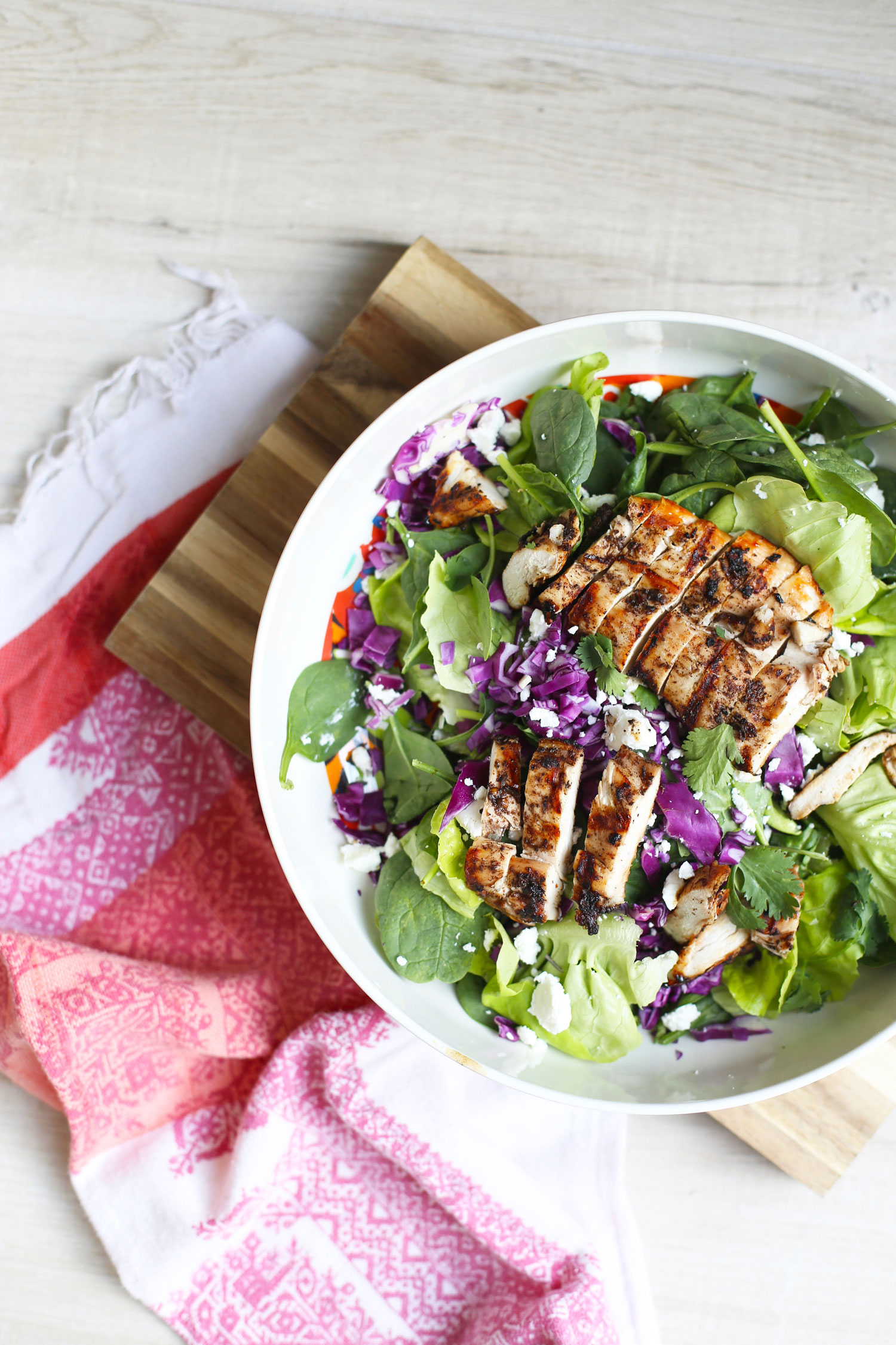 jerk chicken salad