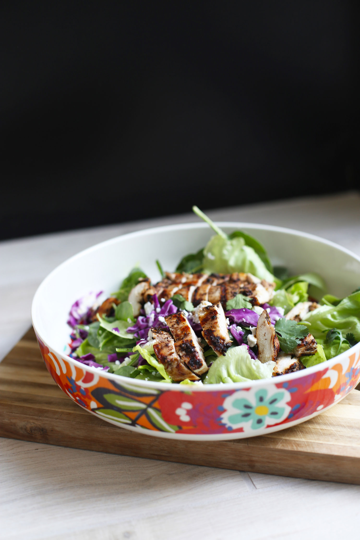Jamaican Jerk Chicken Salad