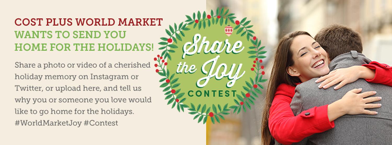 World Market Share the Joy Contest