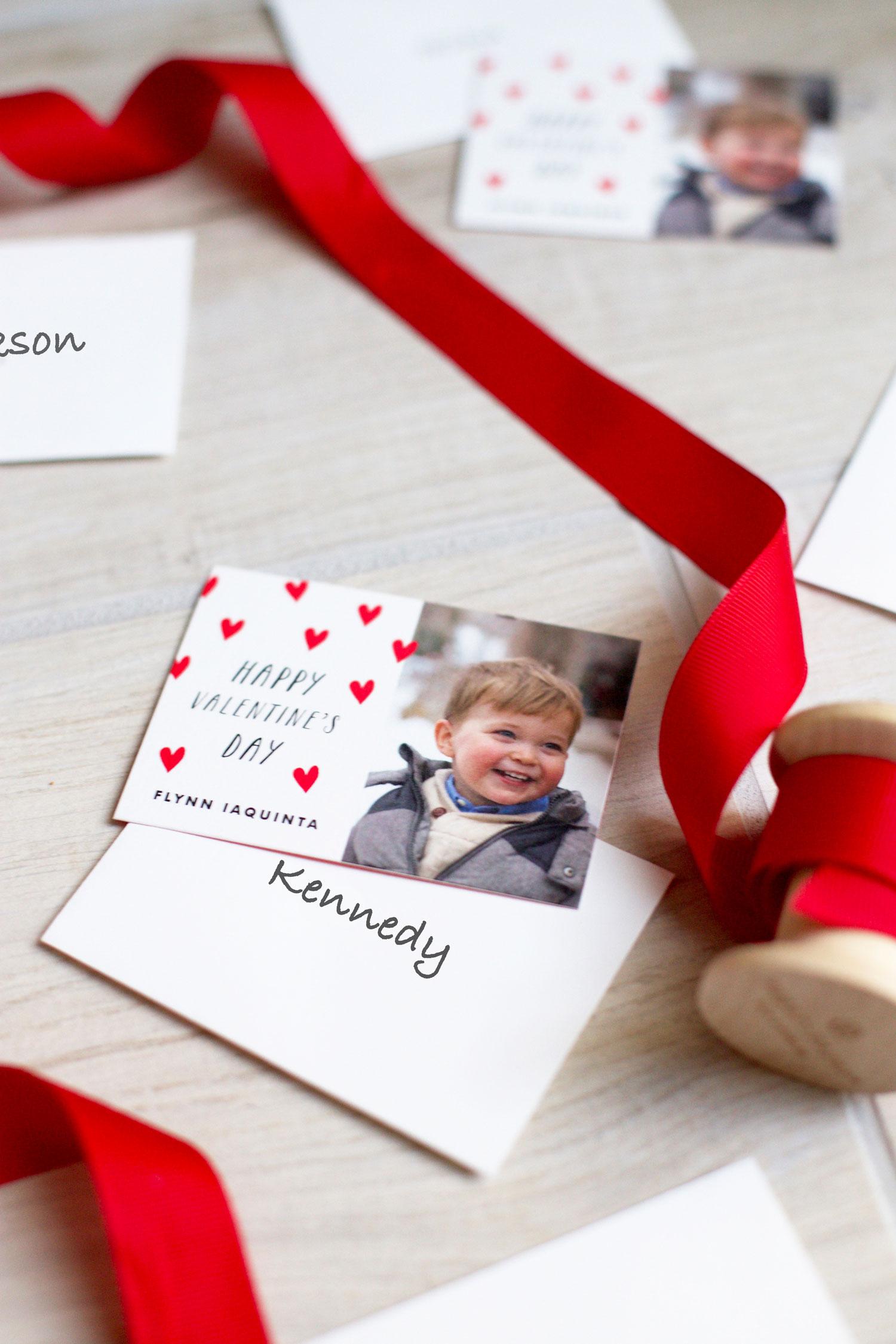 class Valentine cards