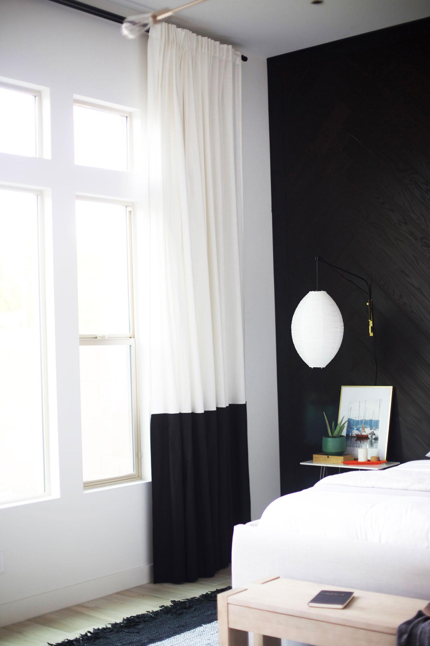 IKEA hack curtains