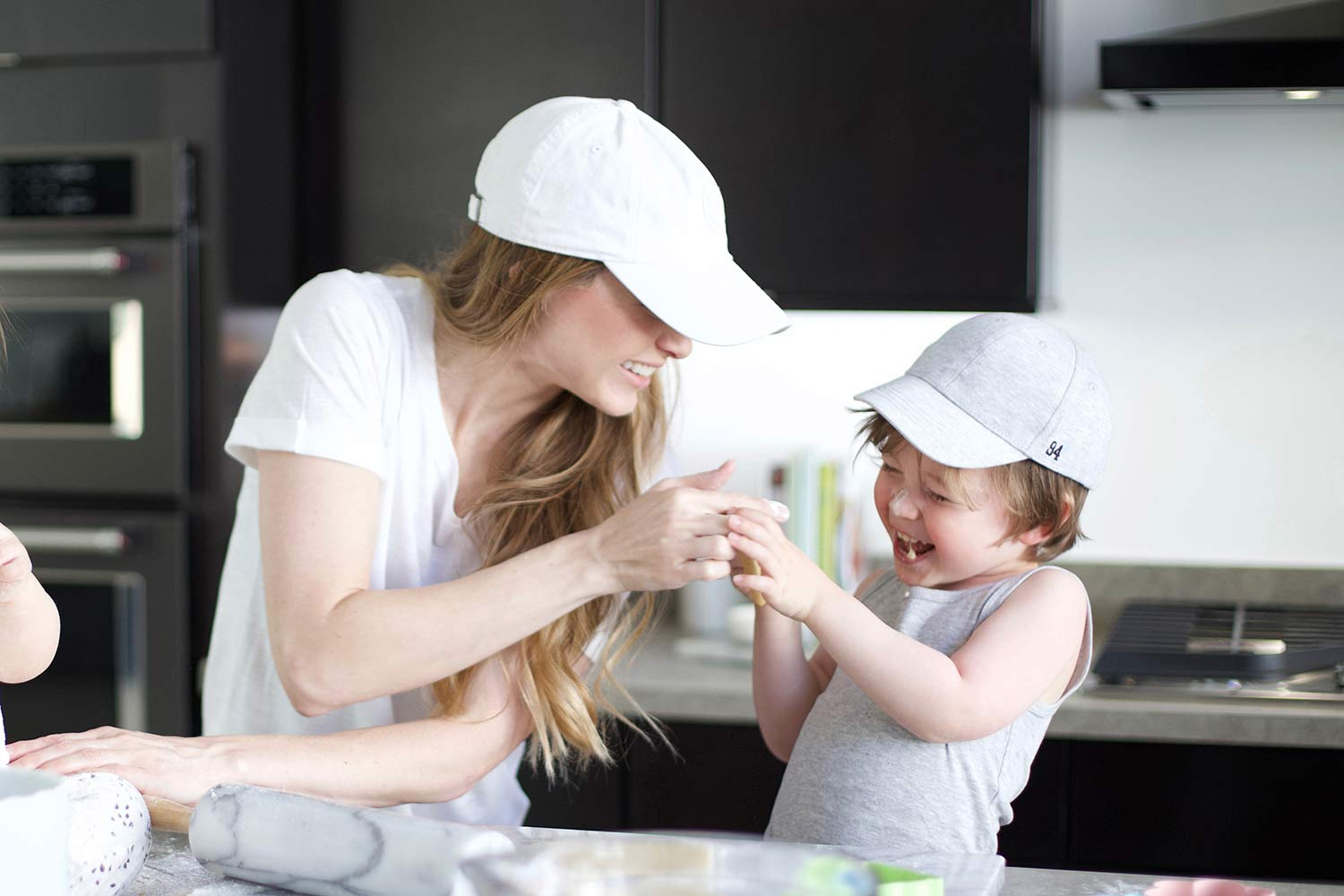 mom and son food fight
