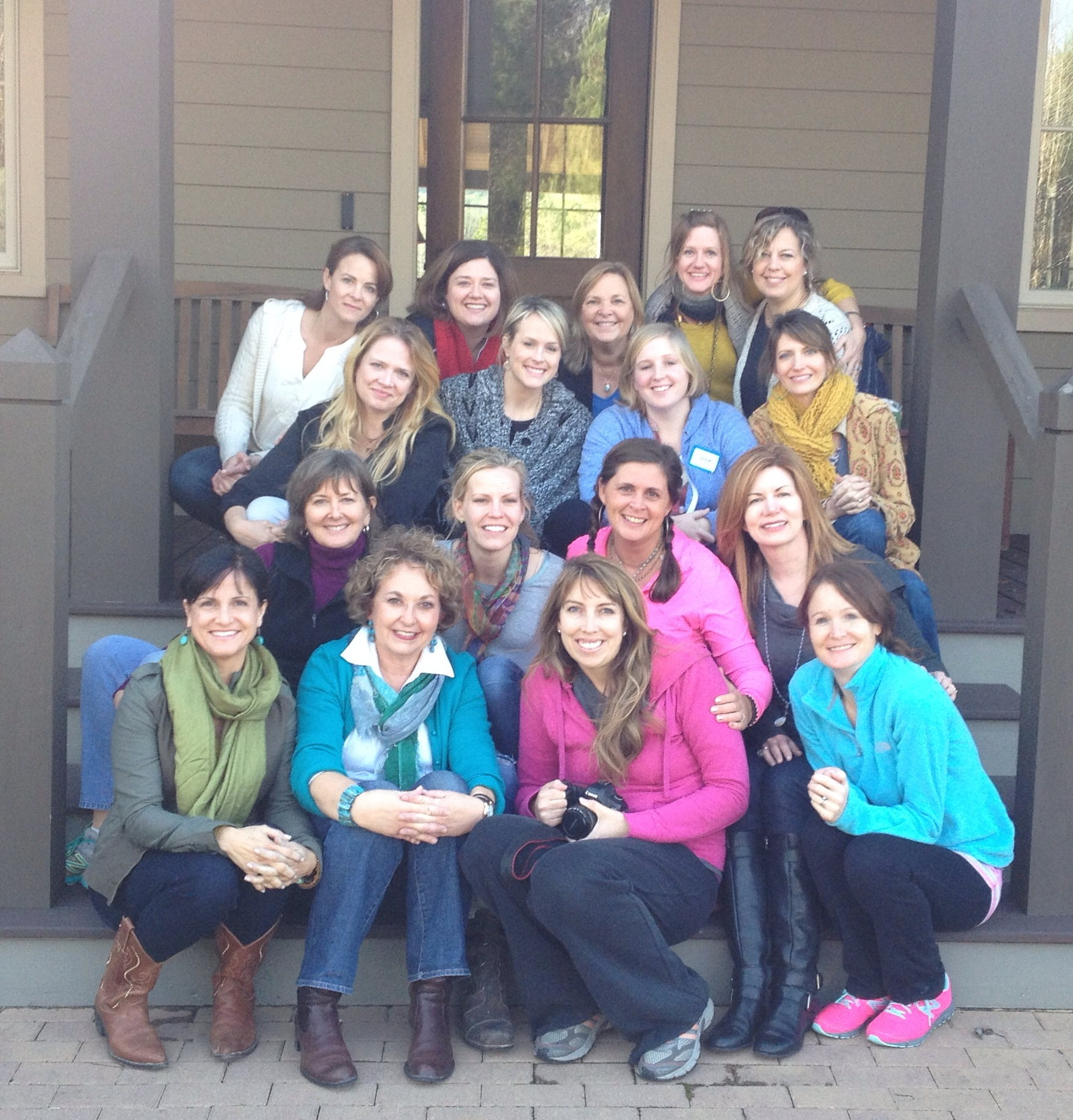 January Artist Retreat at Purcell Farms