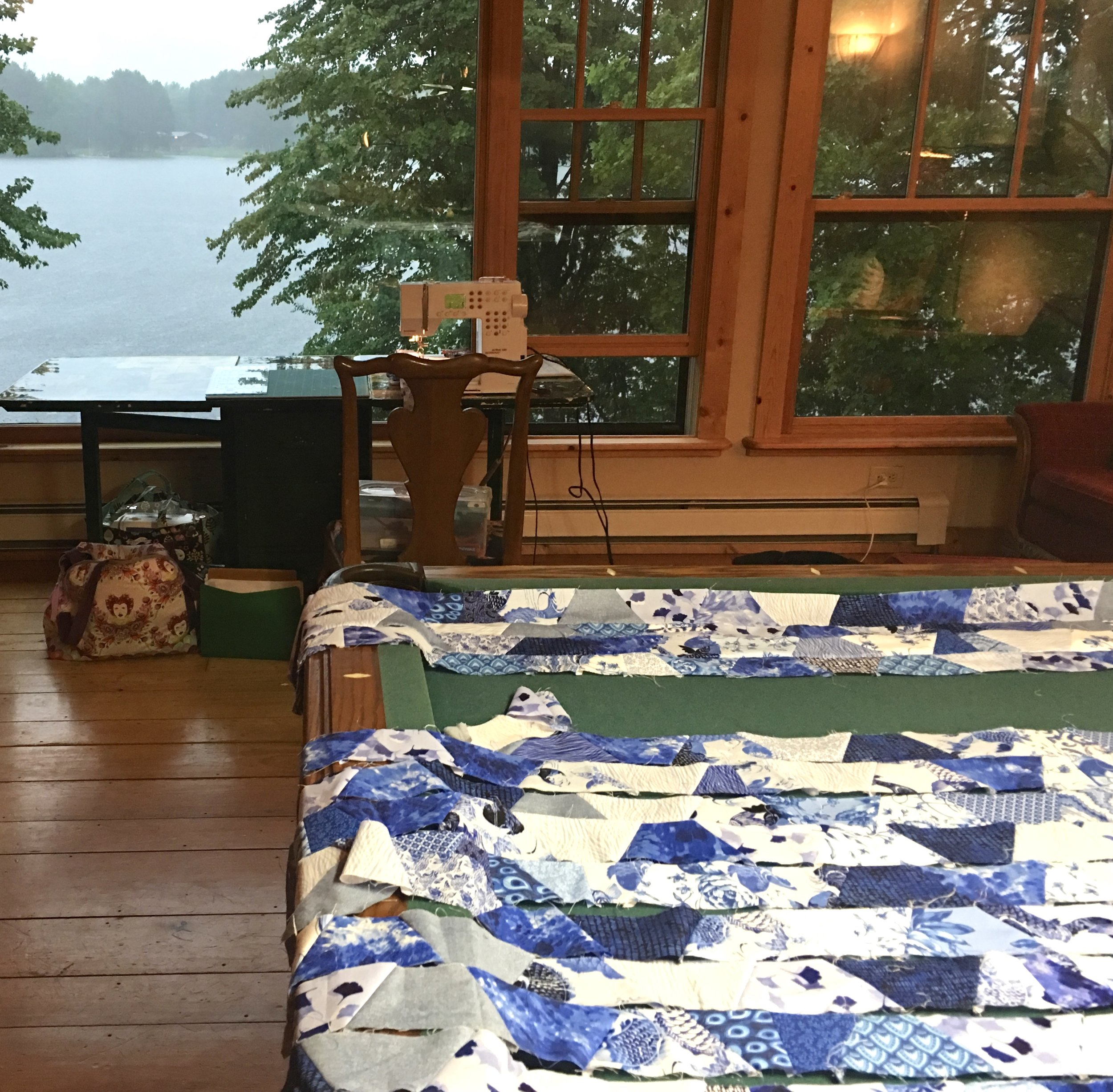 Vacation quilt project