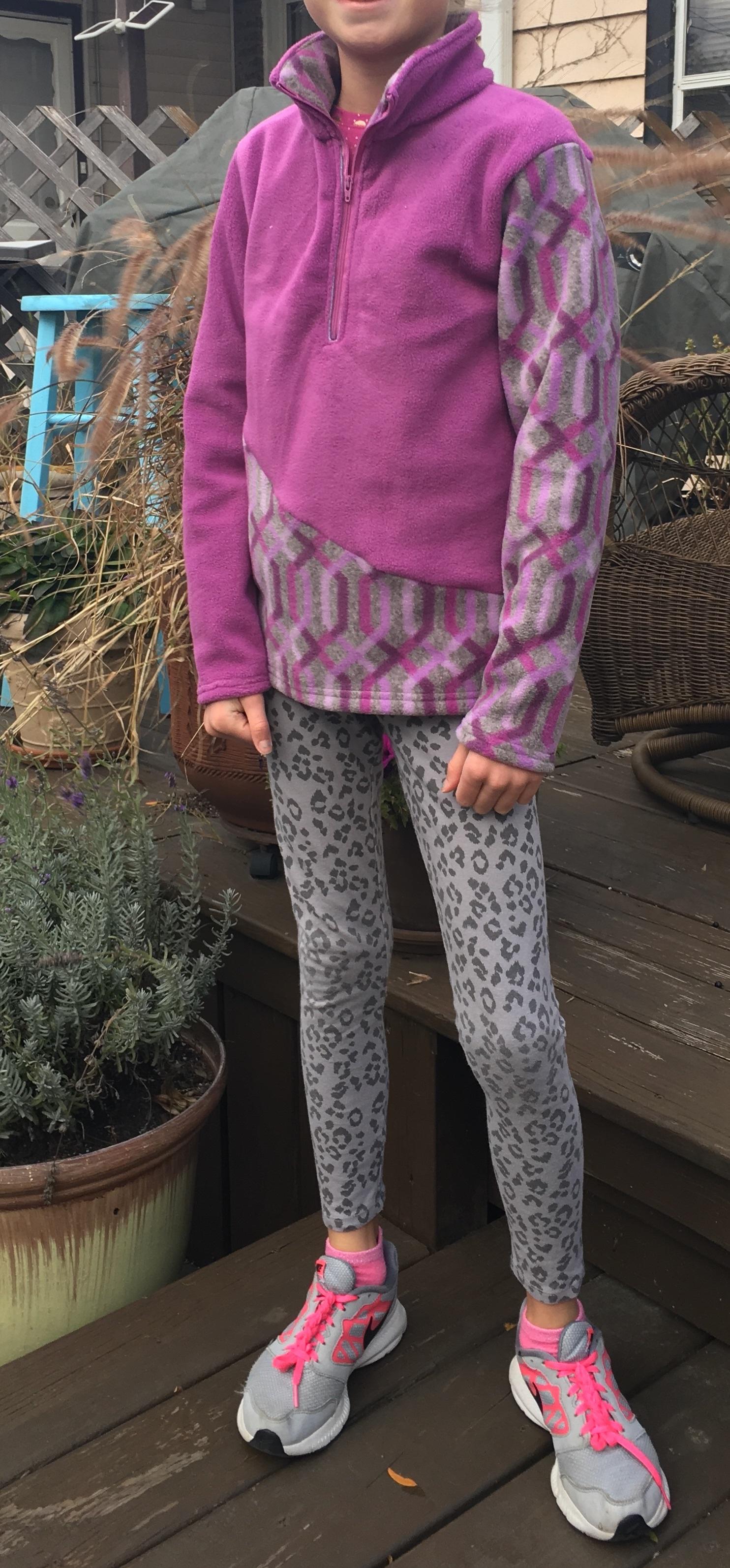 Ava's K2 Kids Fleece Pullover