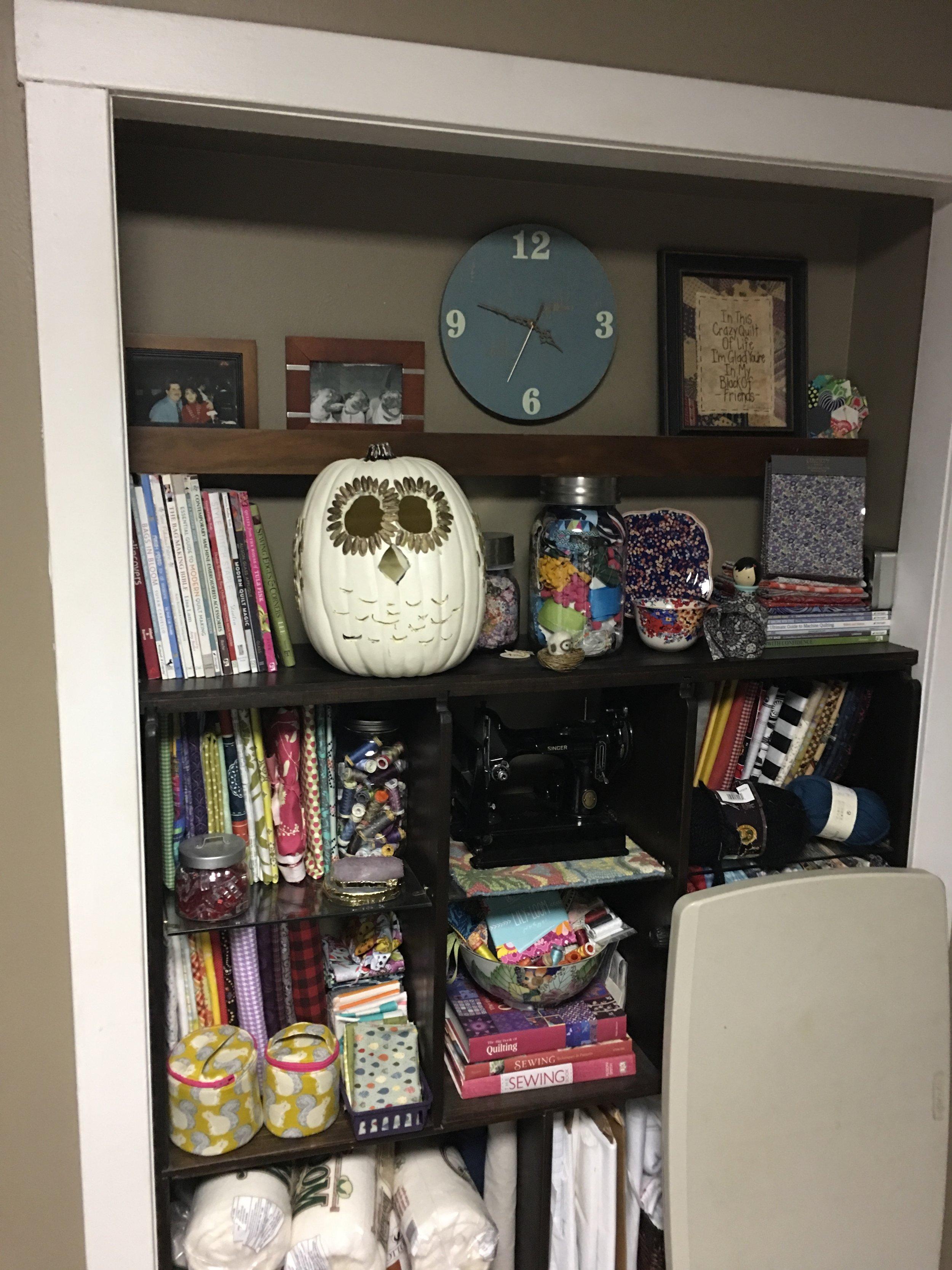 Craft Foam pumpkin with owl design