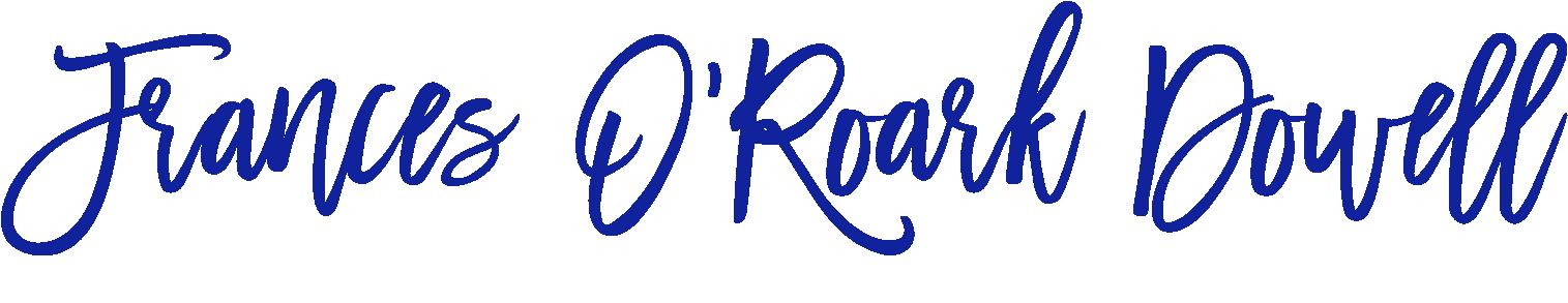 Click logo to go to Frances' website
