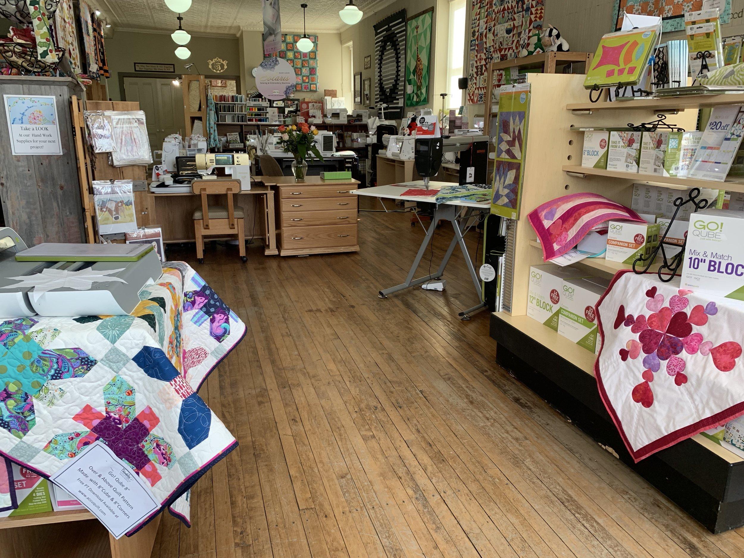 Main level Quilt Shop