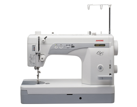 Latifah's straight stitch sewing machine: Janome 1600P