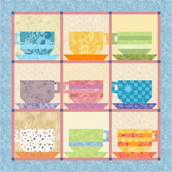 EQ8 Mother's Day Tea Free Pattern