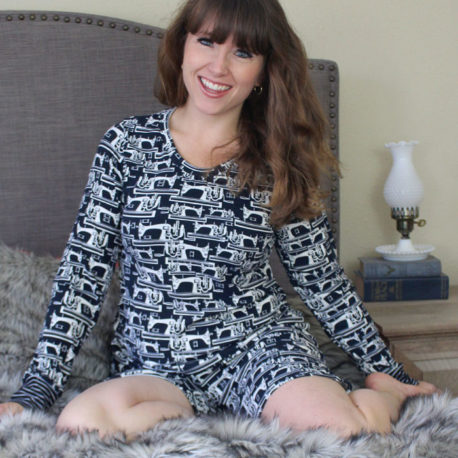 5oo4 pattern: Molly knit pajama set