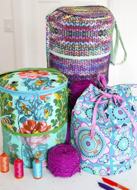 Yarn Minder Bag: pattern by Sew Sweetness