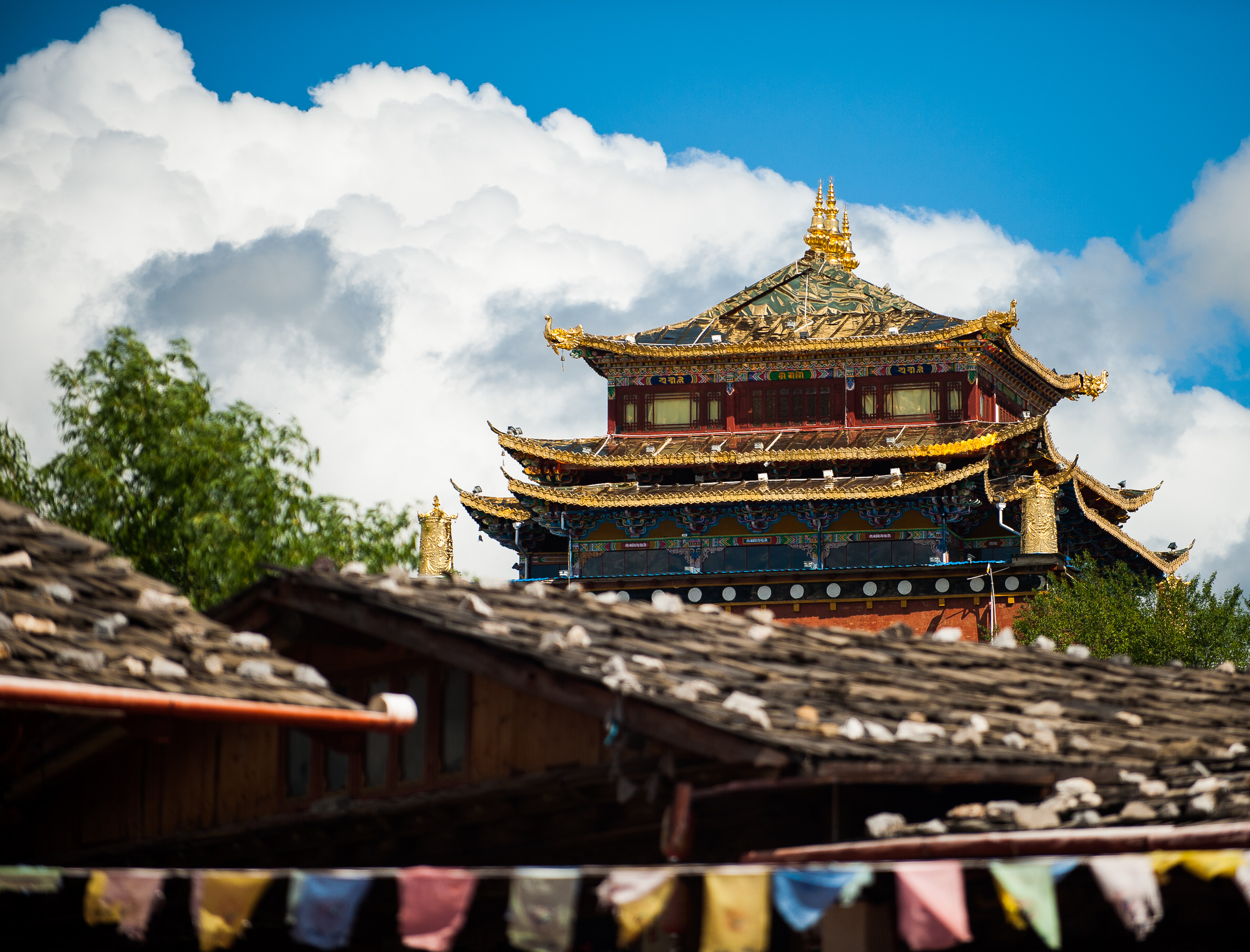 Tibetan Monestary