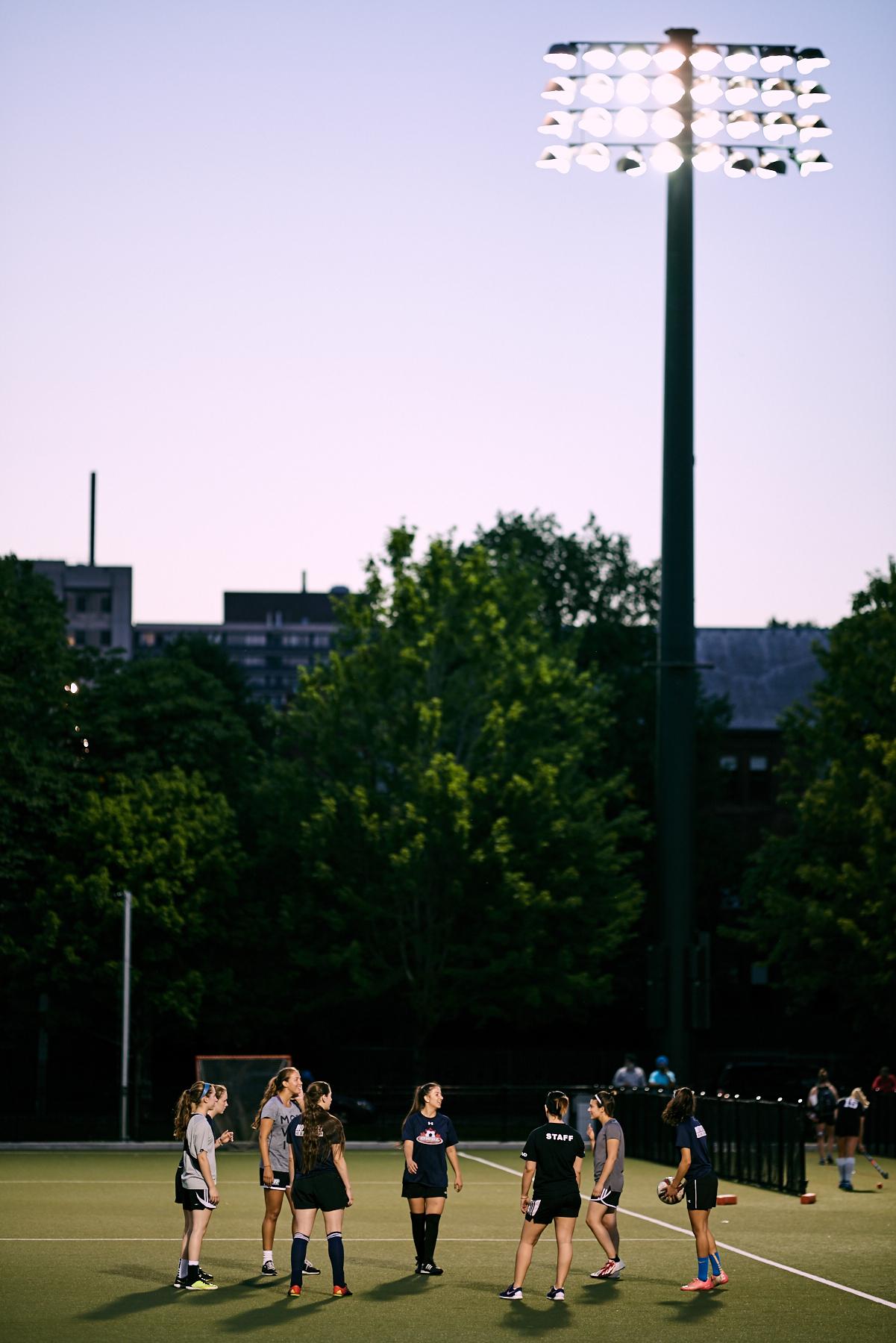 Summer Soccer Practice