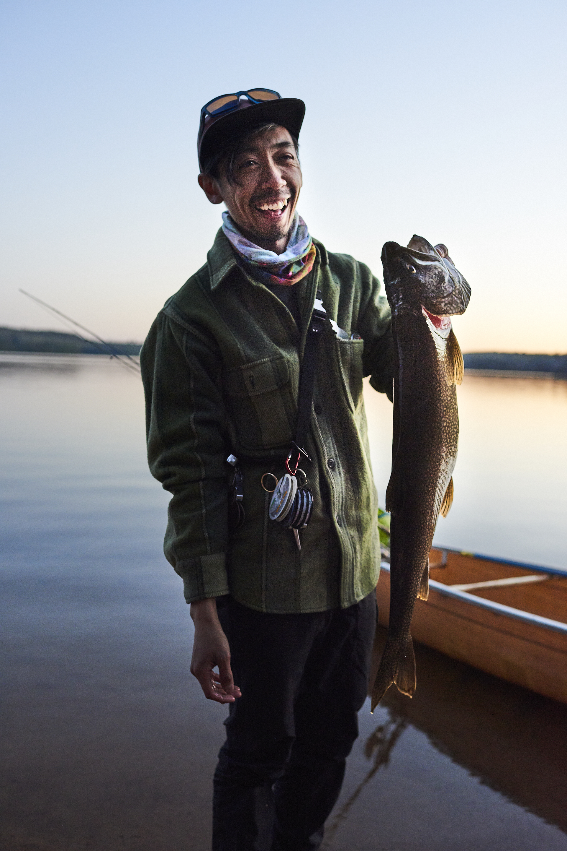 Phu w/ Lake Trout
