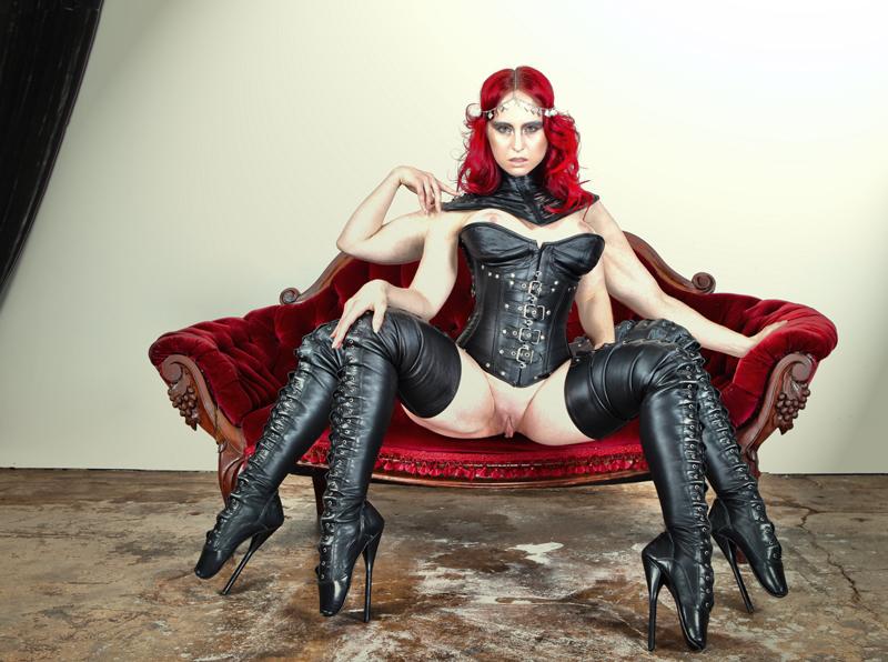 Goddess of Ballet Boots