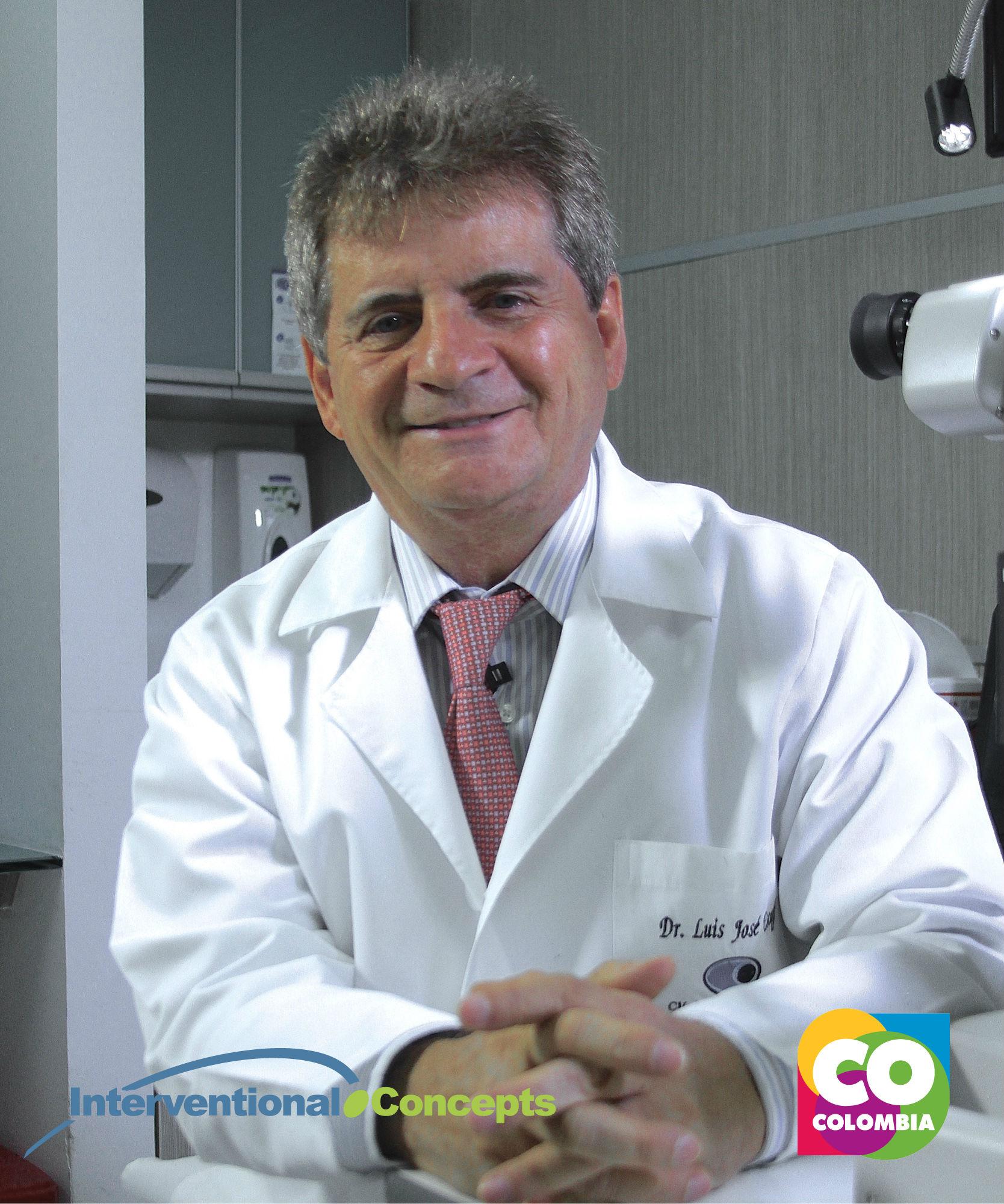 Dr. Luis Escaf, Clínica Oftalmológica del Caribe (COFCA)