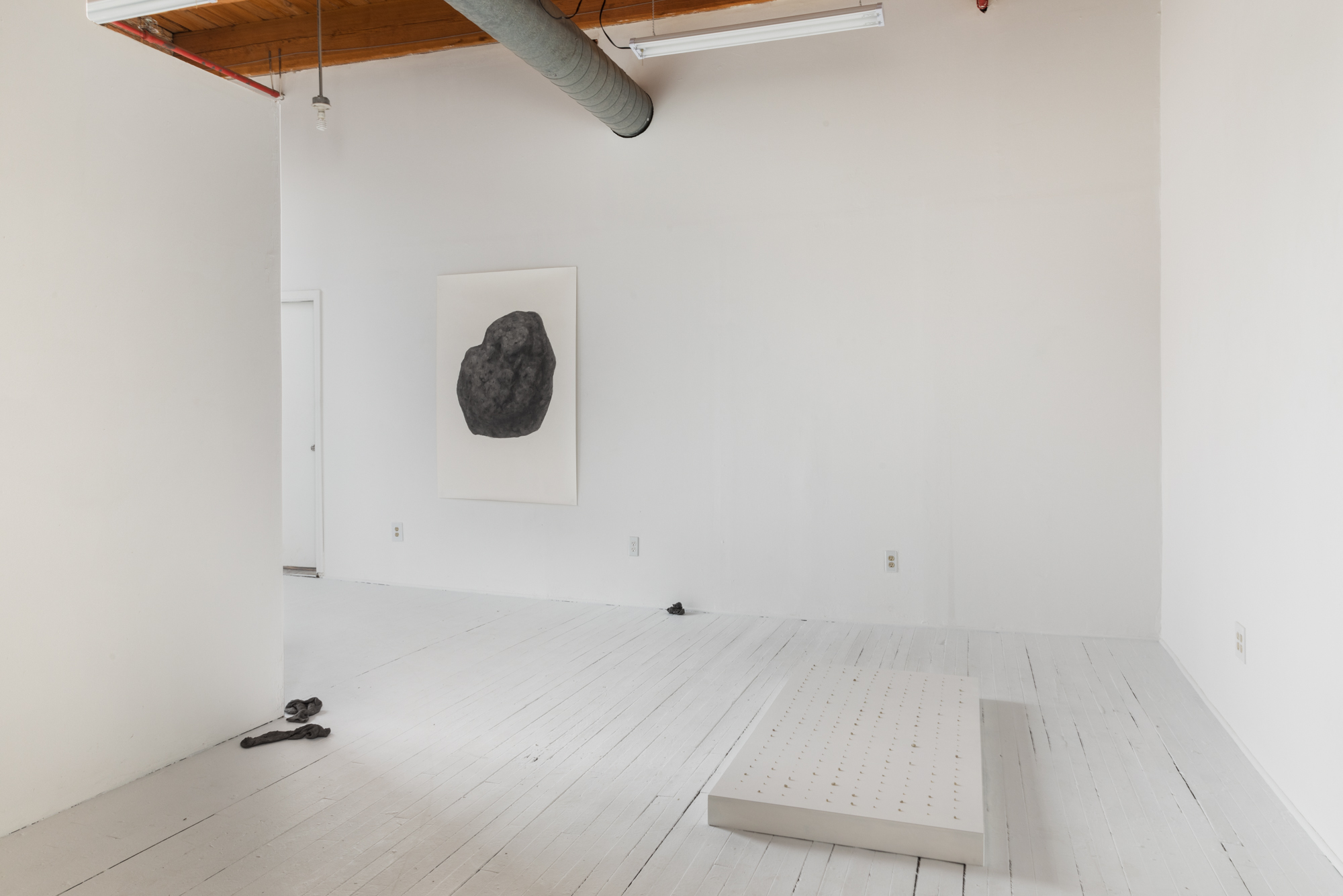 Soo Shin\ install view of 'A Collection of Tears 2012-Present' at Bar 4000 gallery\ 2019 (Photo credit Bar4000/Evan Jenkins)