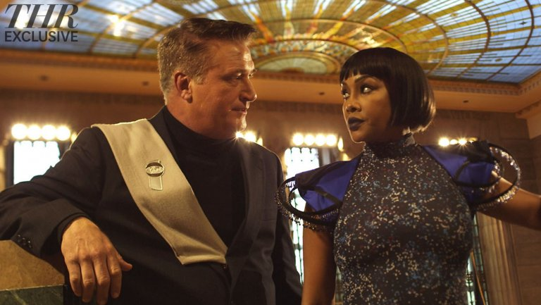 """Feature film, """"Crossbreed,"""" where Vivica Fox plays the first African American, female, U.S. president in a film! Alongside Daniel Baldwin and Stink Fisher, I play Ashley, a bartender who is used to the rougher crowd at her job and who ultimately gets saved from a dangerous bar fight. Hollywood Reporter article"""