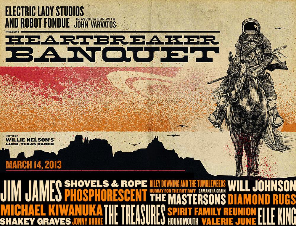 Heartbreaker Banquet 2013 Official Poster