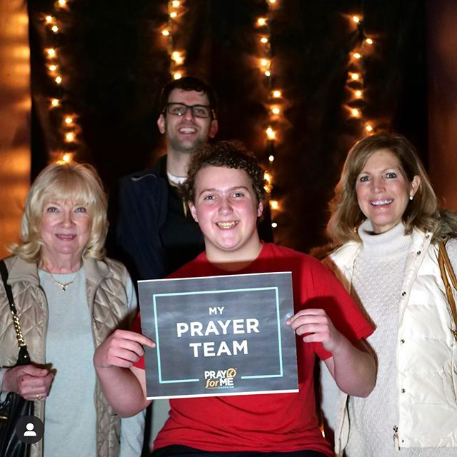 Who is in your #prayerteam?! Post photos and tag us, because we love seeing how your church builds #intergenerational relationships! #prayformecampaign #prayer #pray